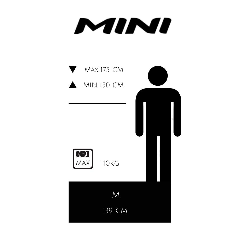 guía de tallas mini