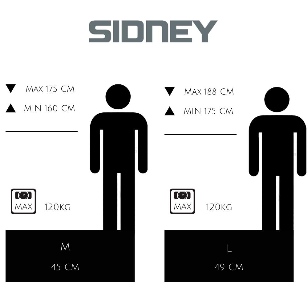 guía de tallas sidney